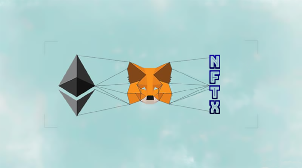 How do I view my NFTX tokens in MetaMask?