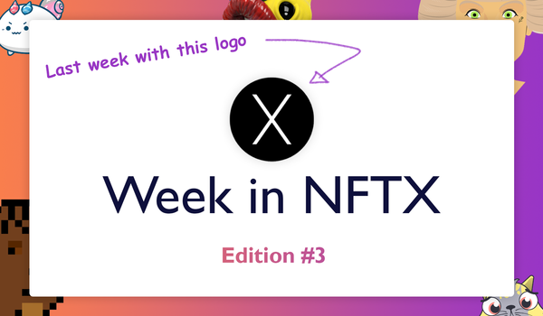 NFTX Weekly Round-Up #3