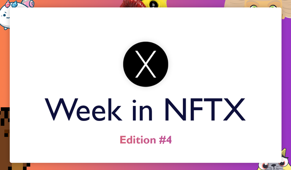NFTX Weekly Round-Up #4