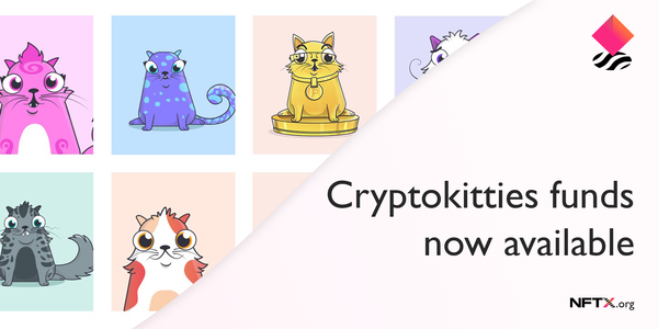 CryptoKitties Index funds are now available