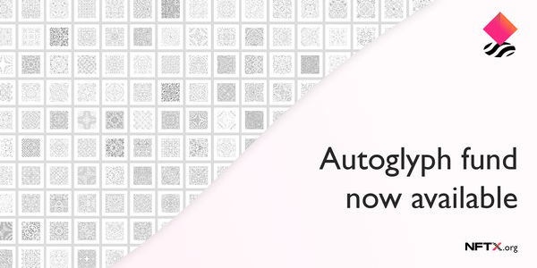 Autoglyphs Index fund is now available